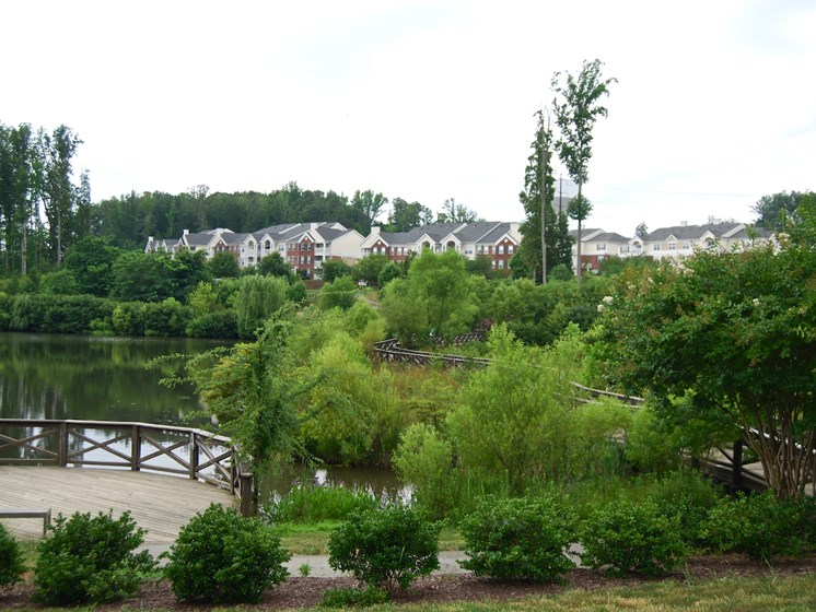 Community Near River at Enclave Apartments, Virginia