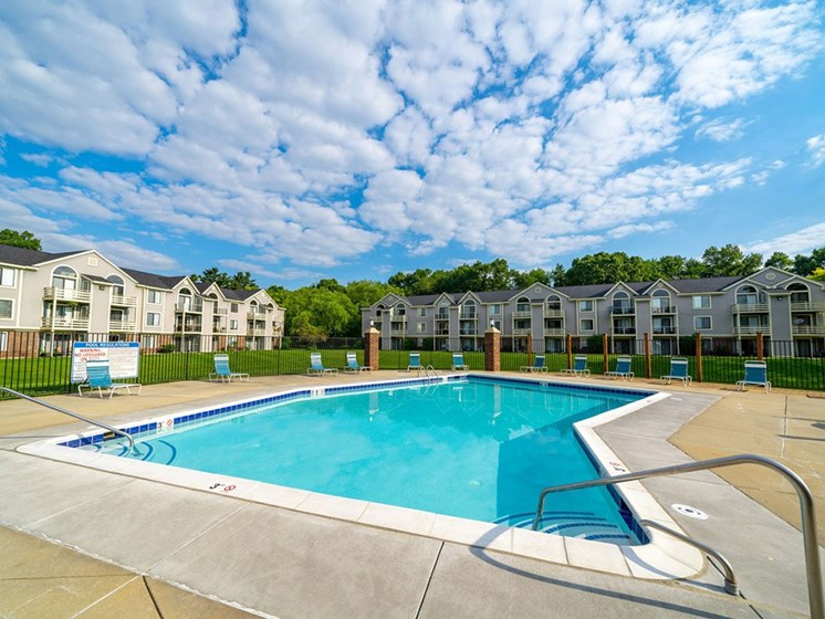 Glimmering Pool at Hurwich Farms Apartments, South Bend
