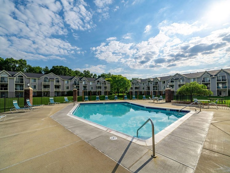 Glimmering Pool View at Hurwich Farms Apartments, South Bend, 46628