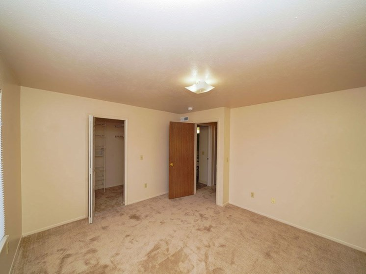 Large Closets at Hurwich Farms Apartments, South Bend