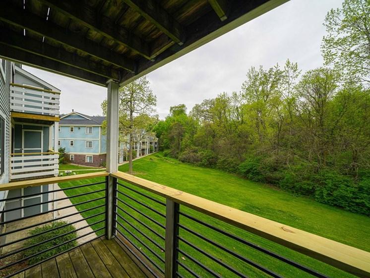 Screened Balcony at Hurwich Farms Apartments, Indiana