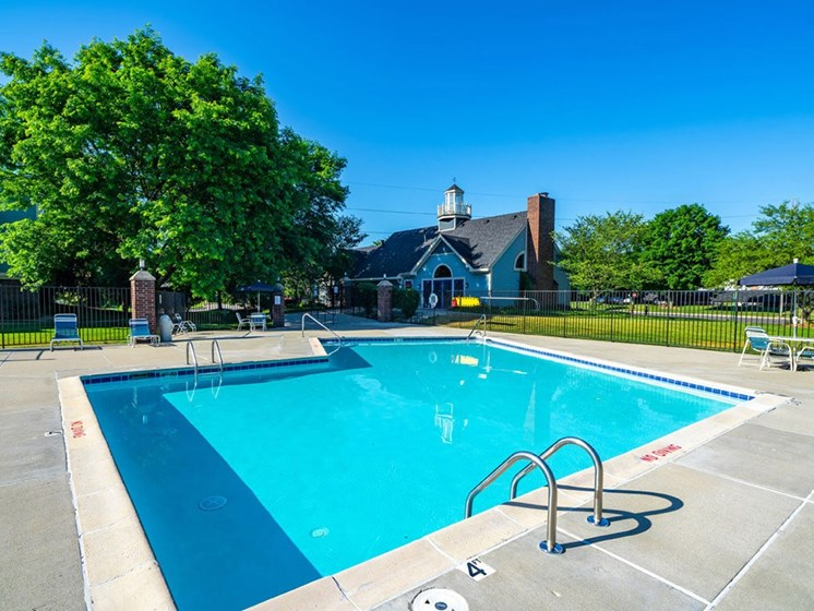 Invigorating Swimming Pool at North Pointe Apartments, Elkhart