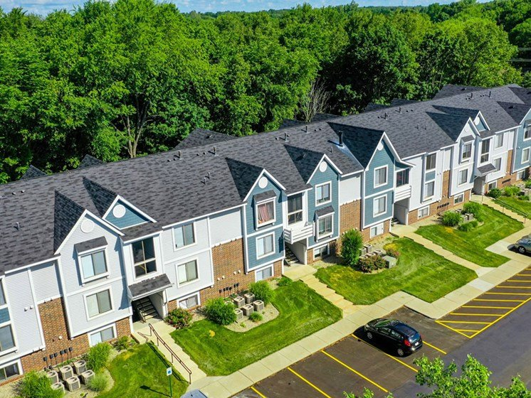 Alternate View Of Community at North Pointe Apartments, Elkhart, IN