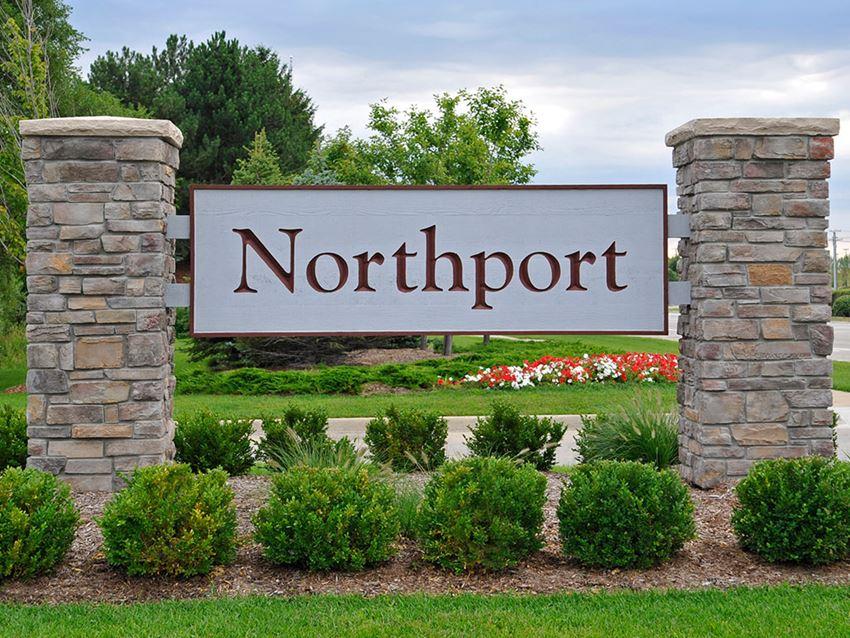 Entrance Sign at Northport Apartments, Macomb, MI