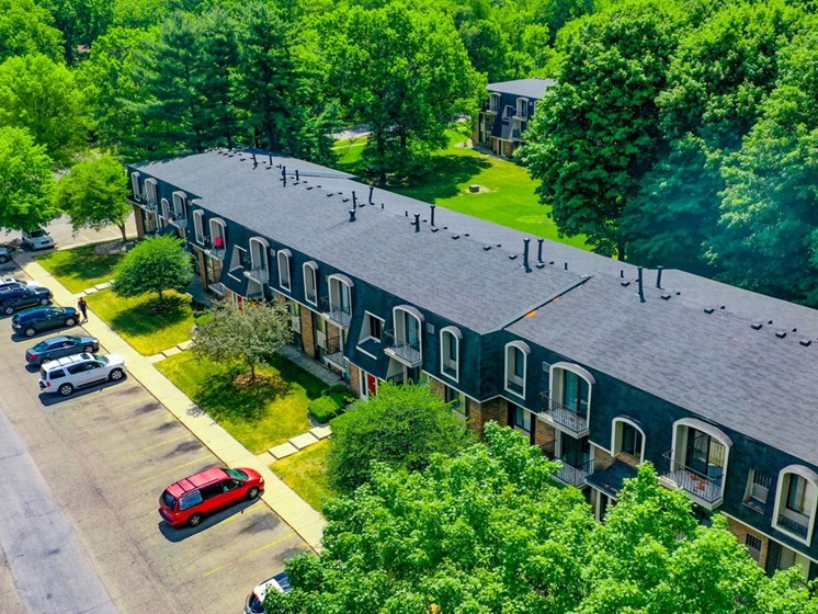 Ample Parking Space at Old Farm Apartments, Elkhart, Indiana