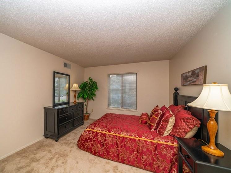 Gorgeous Bedroom at Seville Apartments, Kalamazoo, MI