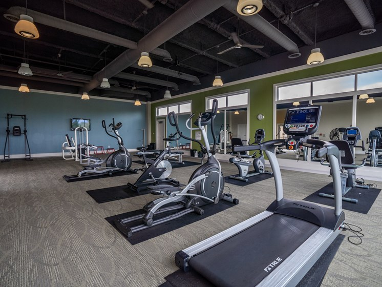 Fitness Center at the Residences of Creekside.