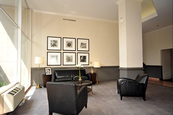 Rittenhouse apartments lobby lounge