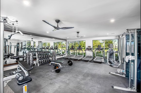 The Edition 24-hour fitness center