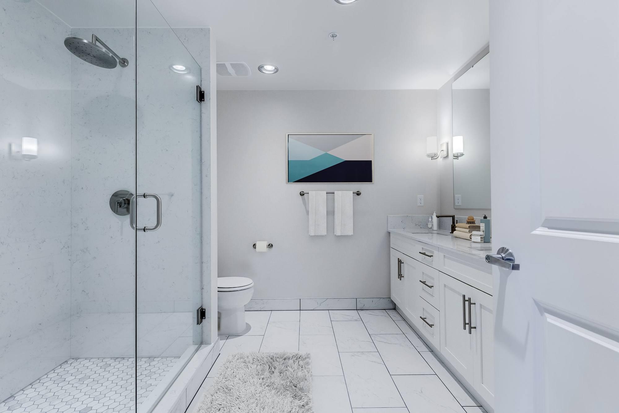 The Mercer Penthouse Model Bathroom
