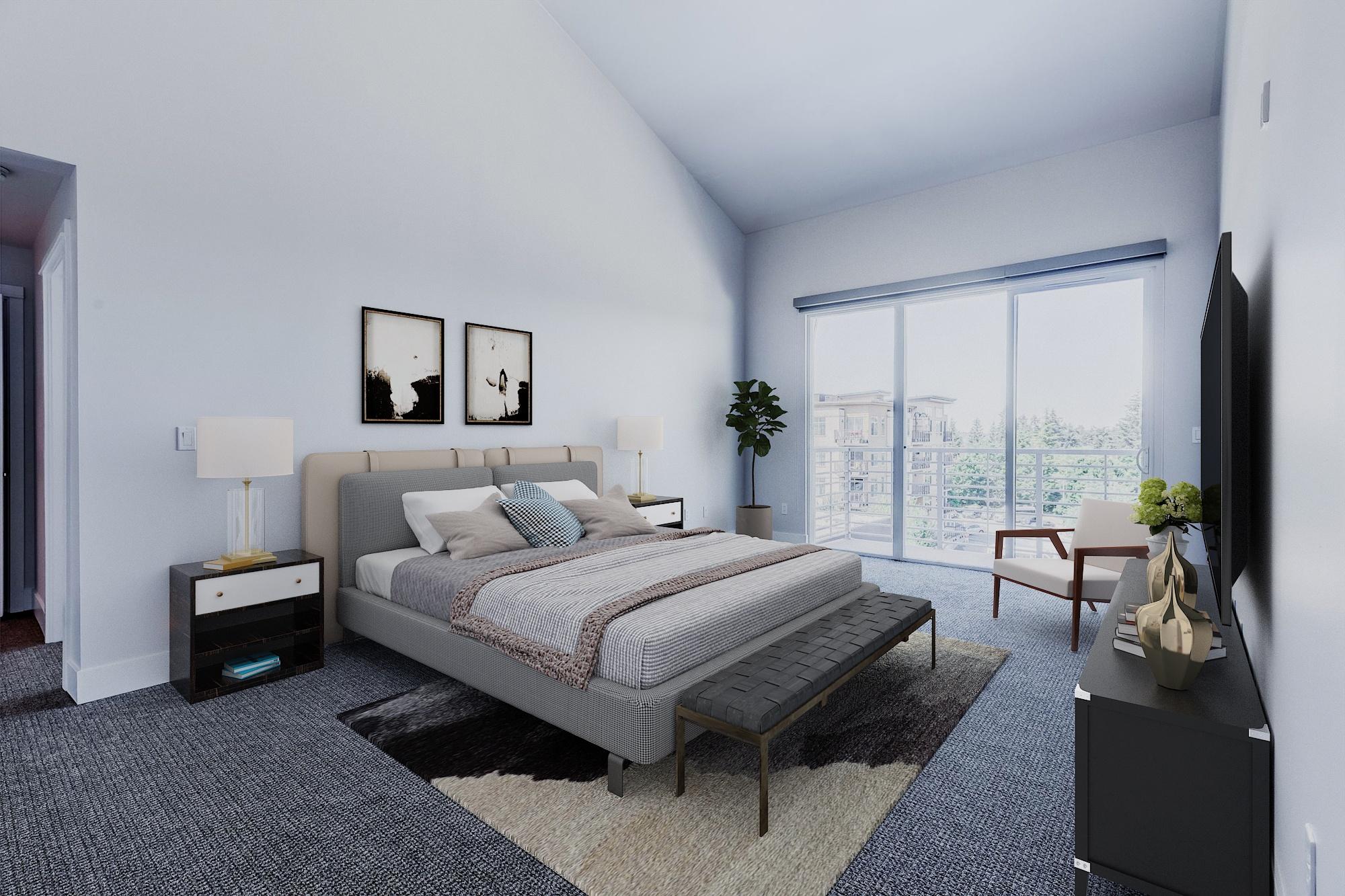 The Mercer Model Bedroom