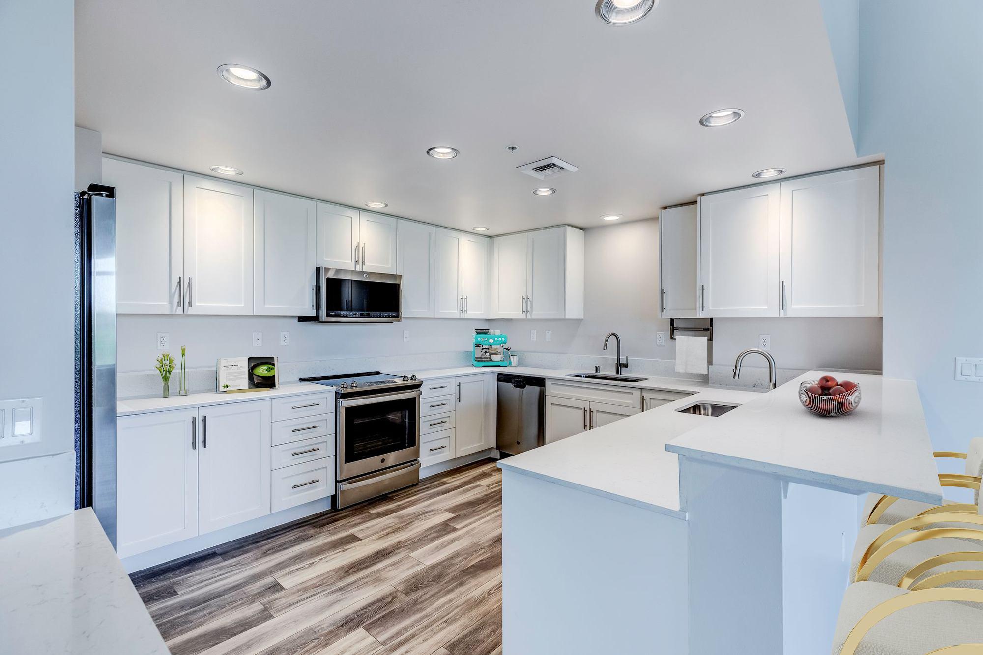 The Mercer Penthouse Model Kitchen