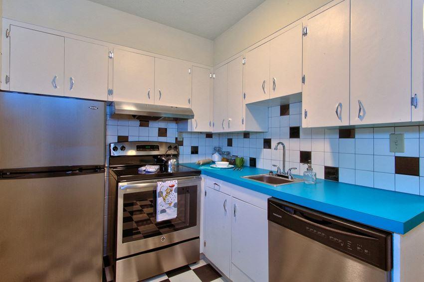 The Hudson_Vancouver WA_Apartment Kitchen