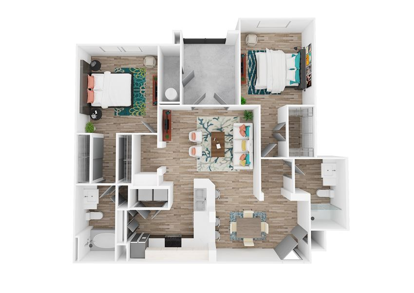 Zone Luxe Stamina Floor Plan