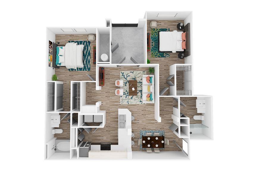Zone Luxe Strength Floor Plan