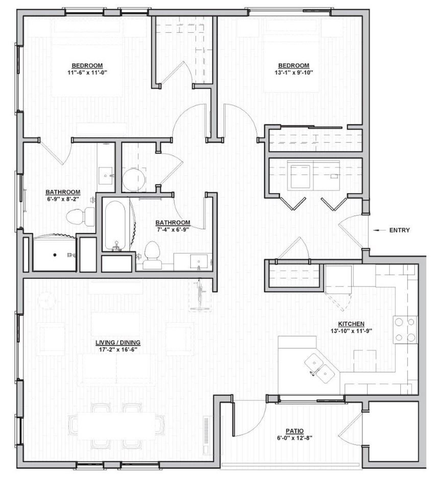 Outpost 44 Apartments Wulfburg Floor Plan