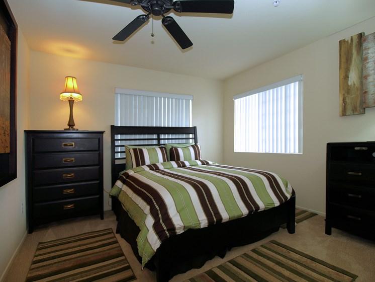 Cypress Villas Apartments Model Bedroom