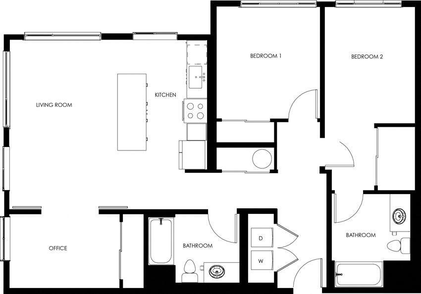 C1 The Hixon Apartments