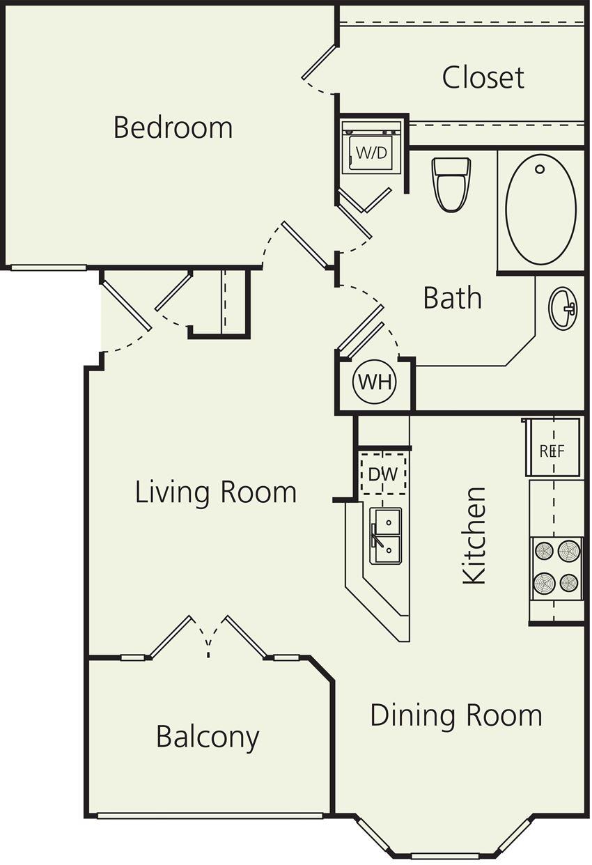 The Carlton Apartments A Floor Plan