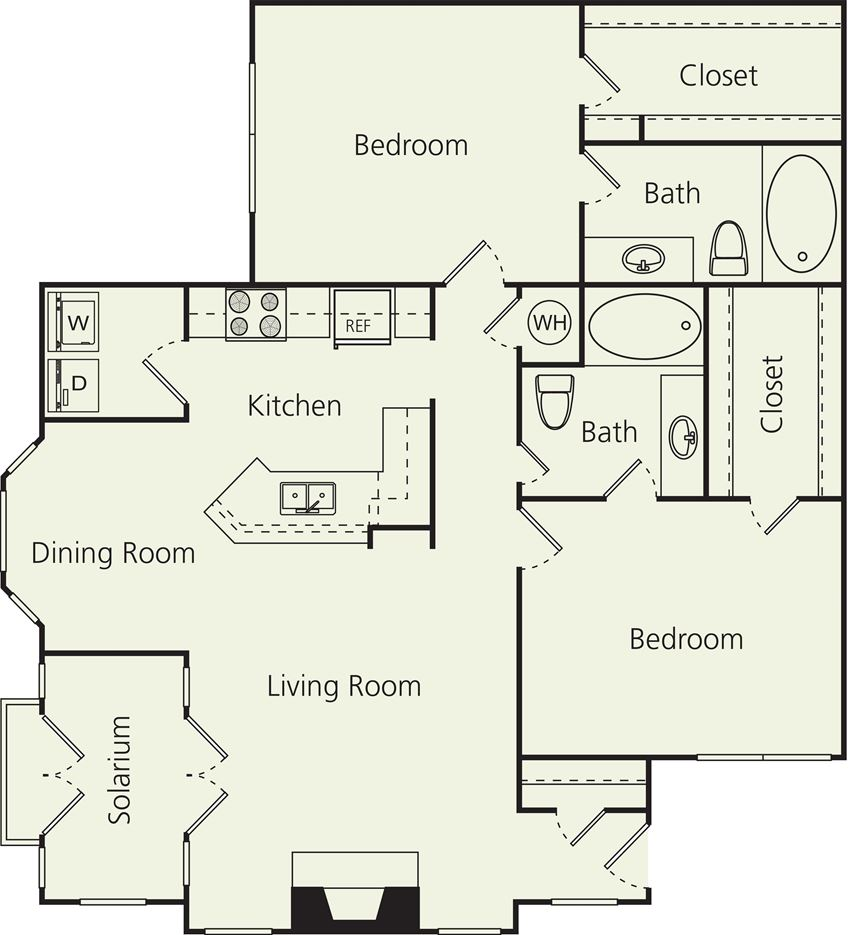 The Carlton Apartments Ds Floor Plan