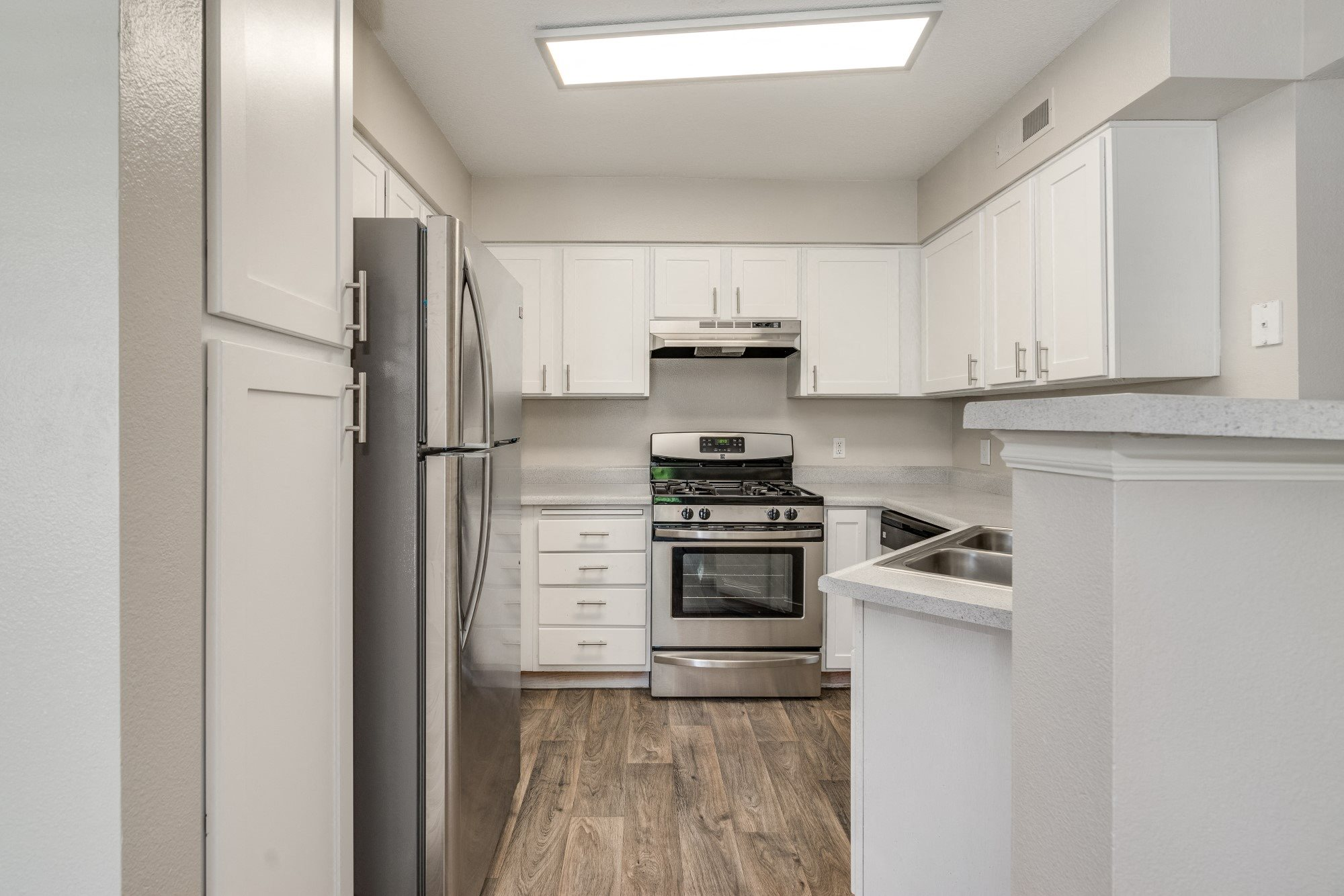 The Heritage Apartment Community Kitchen