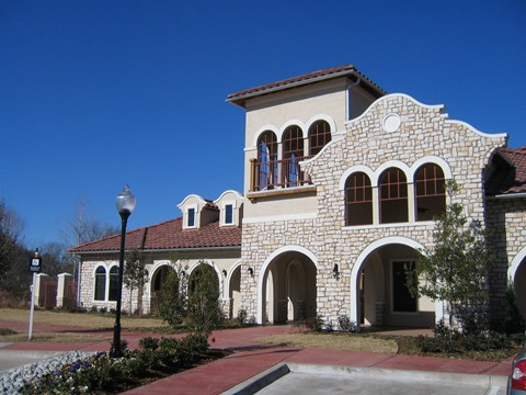 The Positano Apartments Building Exterior and Landscaping