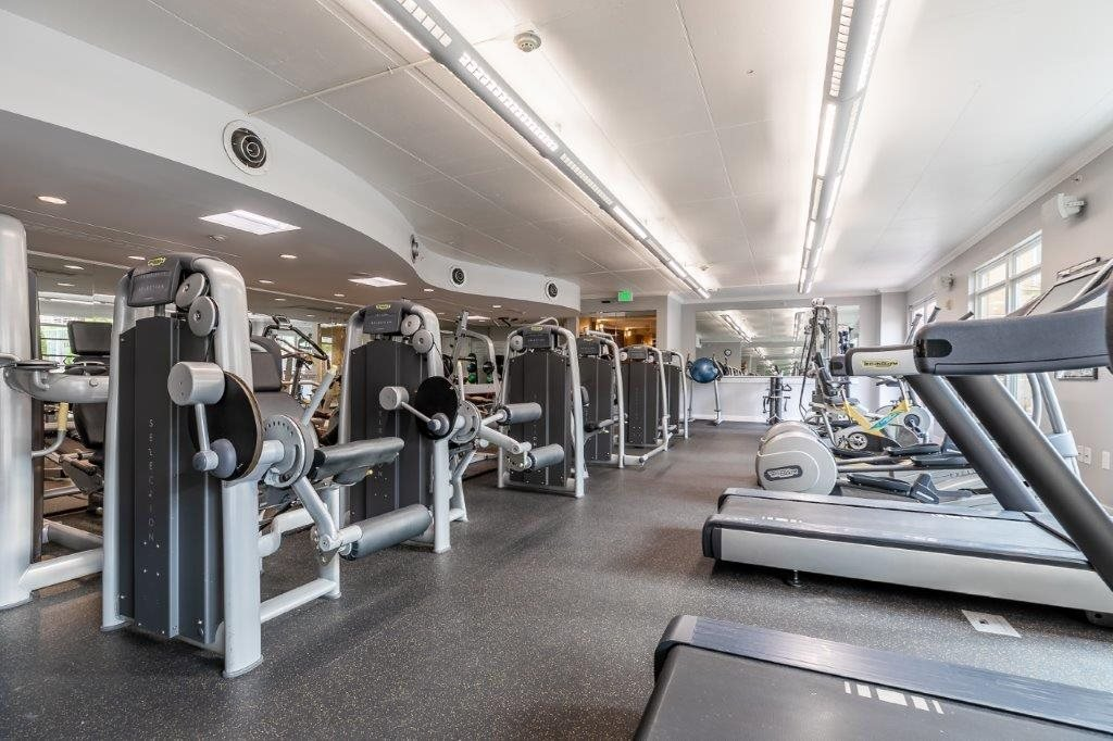 The Mercer Fitness Center Treadmills and Machines