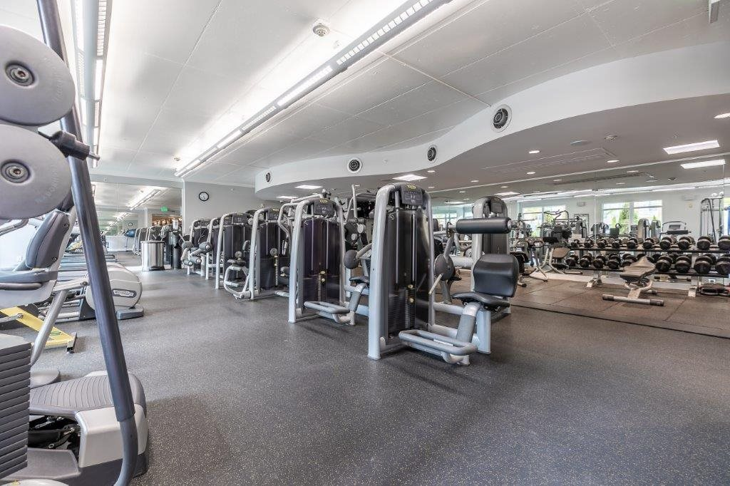The Mercer Fitness Center with Machines and Weights