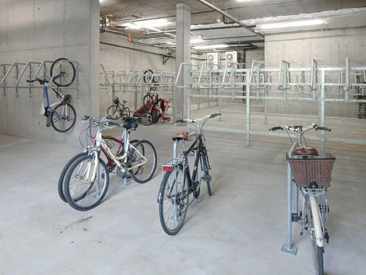 Boathouse Apartments Bike Storage Room