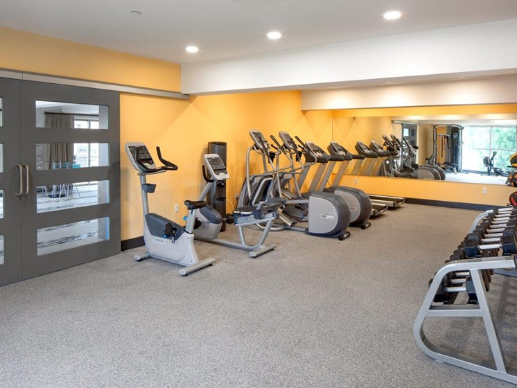 Boathouse Apartments Fitness Center