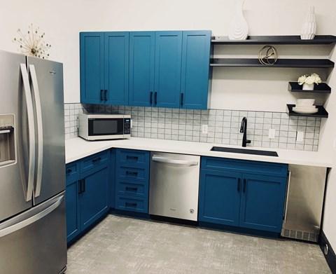 University Villa Kitchen