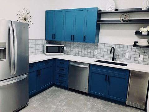 University Villas Clubhouse Kitchen