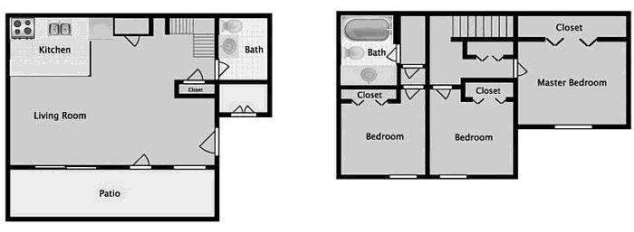 3 BED 1.5 BATH