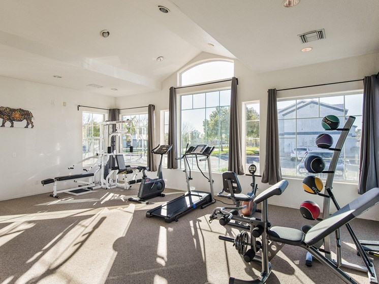 The Landmark Coolidge fitness center
