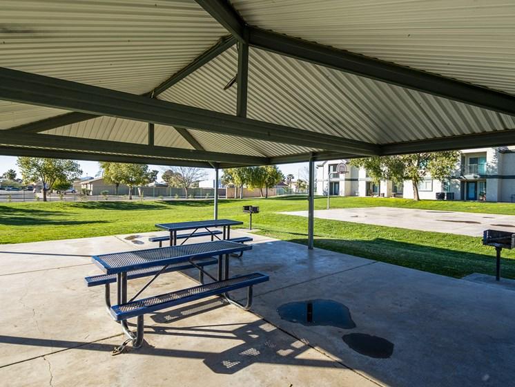 The Landmark Coolidge lounge area