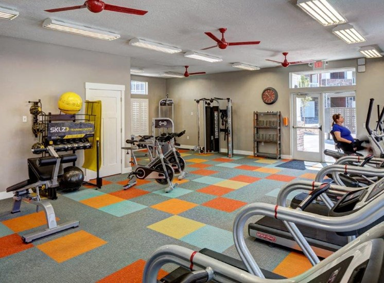 Modern Fitness Center at Alloy at Geneva, Vineyard, UT