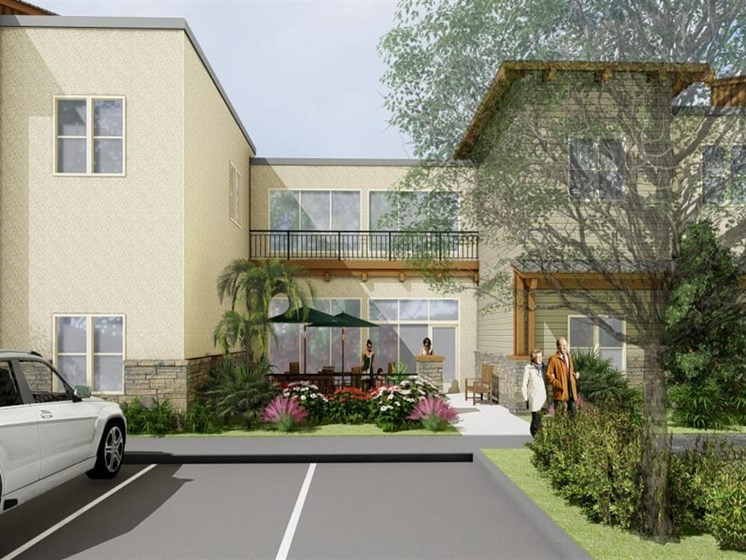 Reserved Resident Parking at Westmont of Encinitas, Encinitas, California