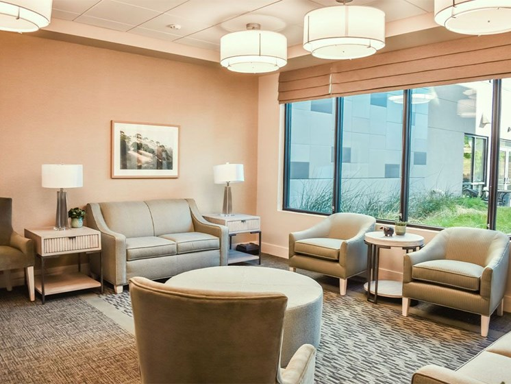 Resident Lounge at Westmont of Milpitas, Milpitas, CA, 95035