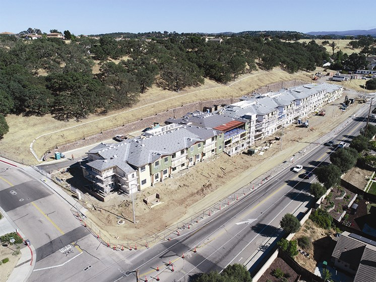The Oaks at Paso Robles Construction Progress