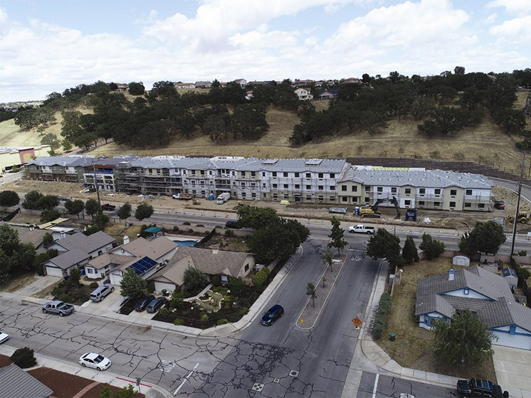 Aerial View Of The Property at The Oaks at Paso Robles, Paso Robles, California