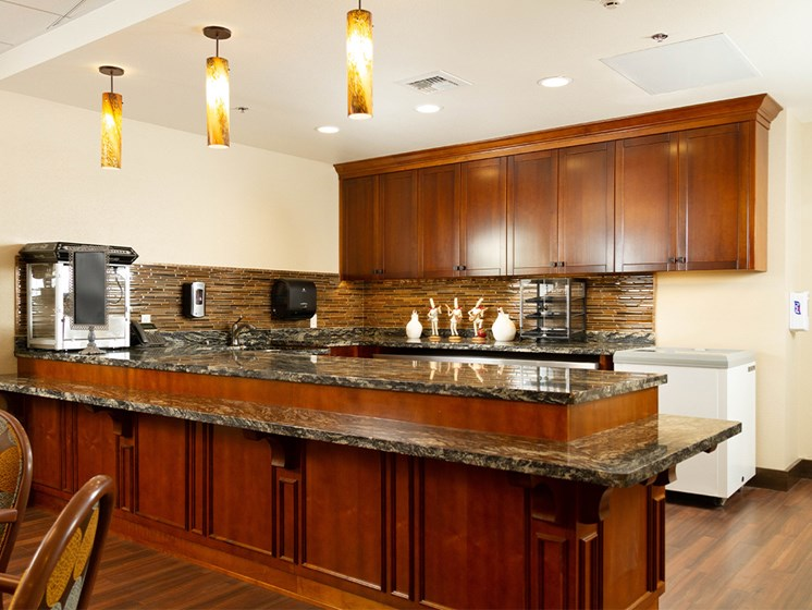 Granite Countertop Kitchen at The Terraces, Chico, California