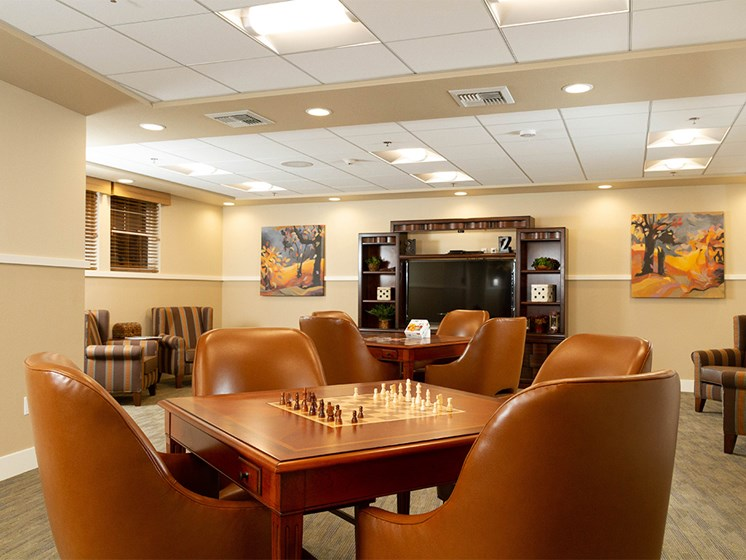 Game Room at The Terraces, Chico, 95928
