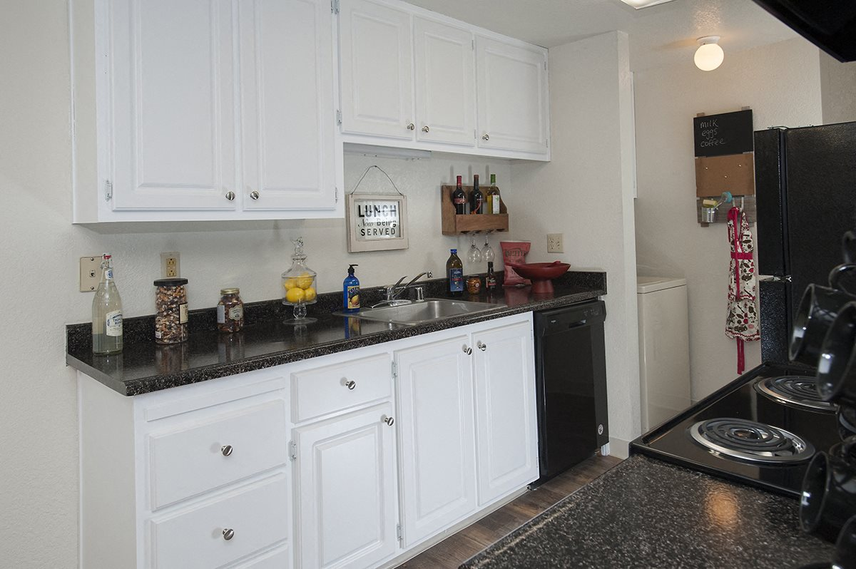 Bishops Court Apartments Model Upgraded Kitchen