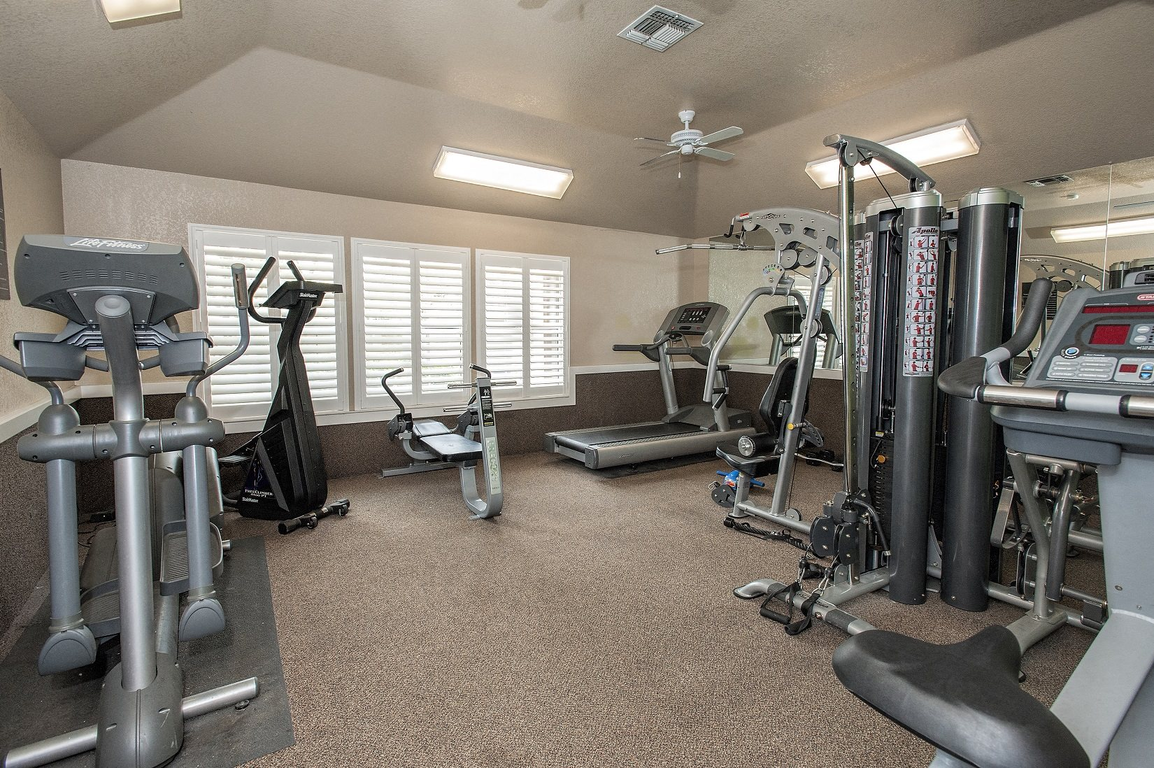 Canterbury Downs Fitness Center & Equipment