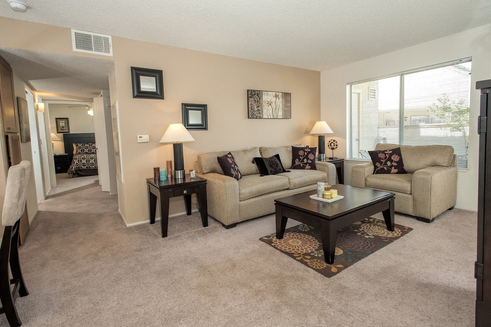 Canterbury Downs Model Living Room & Furniture