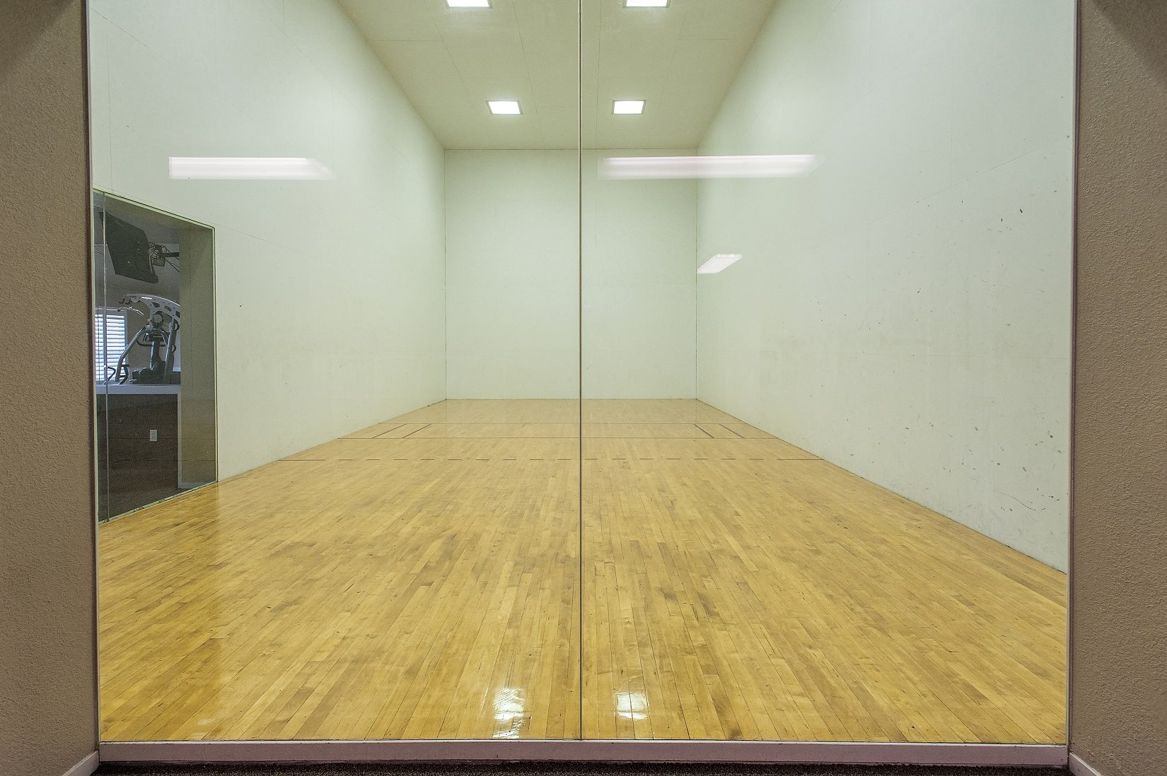 Canterbury Downs Racquetball Court
