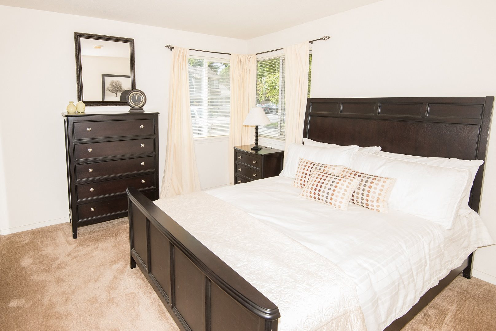 Creekside Village Model Large Master Bedroom