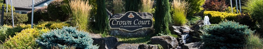 Crown Court Apartments Property Entry Monument