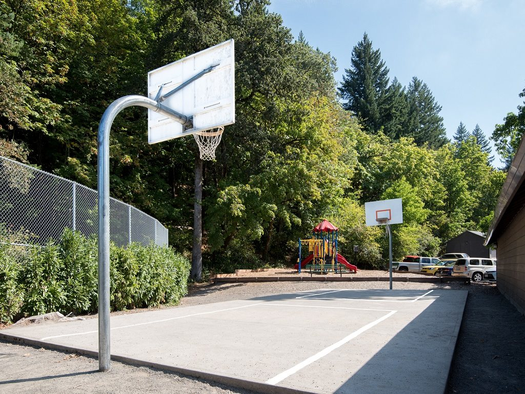 Crown Court Basketball Court