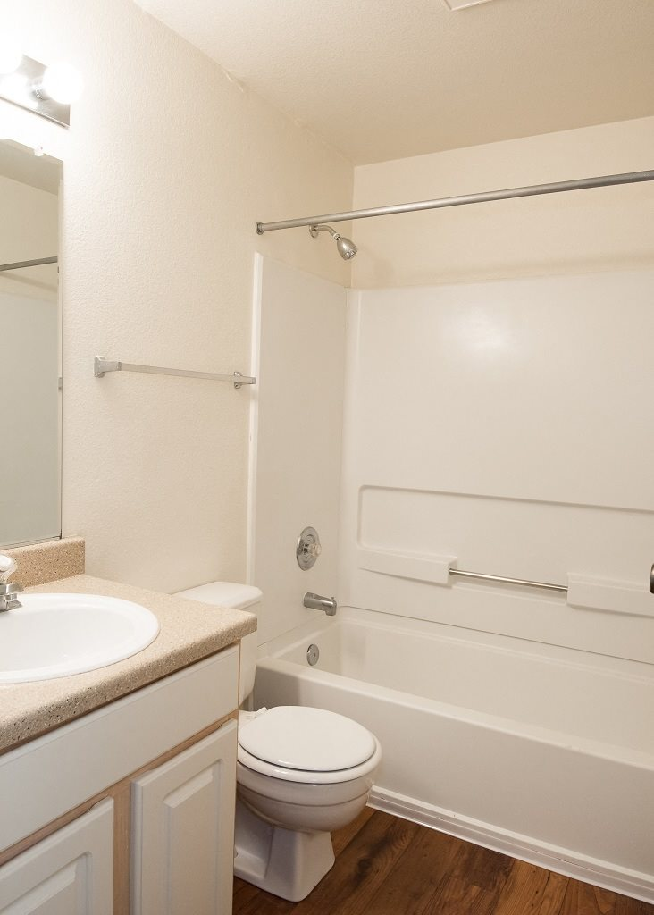 Crown Court Vacant Apartment Upgraded Bathroom